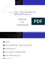 Compilation and Simulation of Embedded Linux system