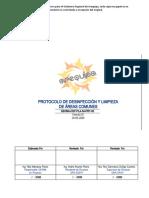 006 PRT-03-Limpieza y Desinfección de Areas Comunes OK REV0-HOSPITAL COVID