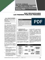 SIAF_DECODIFICANDO LAS FINANZAS PUBLICAS PERUANAS