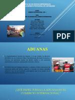Aduanas y Comercio Internacional