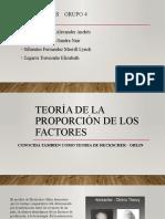 Teoria de La Proporcion de Factores
