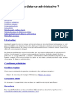 (AD) administrative distance