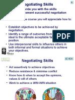 Work material - Negotiation Skills