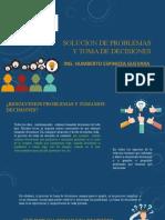 TOMA DE DECISIONES Y SOLUCION DE PROBLEMAS -A