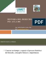DIAPOS UNIDAD 1 HISTORIA DEL DERECHO. (1)