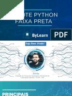 Pacote Python Faixa Preta