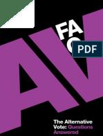 AV FAQ web