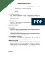 06. ESPECIFICACIONES TÉCNICAS