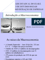 INTROD A MACRO - HISTORICO - POLITICA - DESDOBRAMENTOS - DS - FLUTUAÇÕES