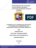 Yupanqui Almonte Dany Rudy