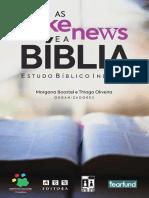 EBI - As Fake News e a Bíblia