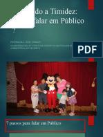 Vencendo a Timidez CURSO DE VERÃO FAV