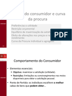 6 - Escolha e Procura do Consumidor [Microeconomia I ]