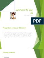 Teknik Animasi  3D