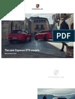 Cayenne GTS Brochure