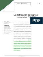 Altimir. distribucion del ingreso