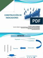 CONSTRUCCIÓN DE INDICADORES pdf