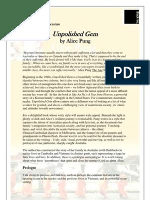 unpolished gem free pdf