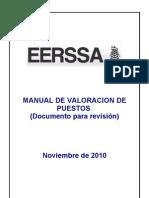 COMPETENCIAS MANUAL DE VALORACION DE PUESTOS CETEERSSA reformas