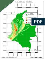 Mapa Amenaza Colombia