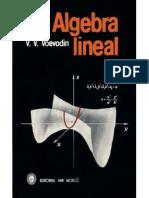 Algebra Lineal Voevodin