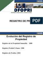 7.-REGISTRO DE PREDIOS