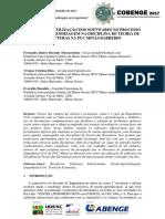 IMPACTOS DA UTILIZAÇÃO DOS SOFTWARES NO PROCESSO DE ENSINO-APRENDIZAGEM NA DISCIPLINA DE TEORIA DE ESTRUTURAS NA PUC MINAS BARREIRO