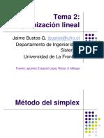 CLASE N°3 METODO SIMPLEX