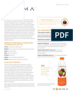 Vemma Product Fact Sheet