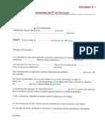 Modele de Lettre de Transmission Du PV Au Procureur