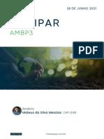 Update - Ambipar (AMBP3) - 28.06.2021