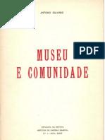 Museu e Comunidade