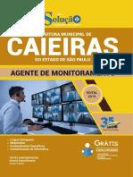 Download Apostila Prefeitura de Caieiras - Sp 2019 - Agente de Monitoramento PDF