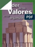 El poder de los valores en las organizaciones
