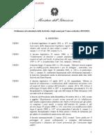 Ordinanza ministeriale Calendario delle festività e degli esami a.s. 2021-2022