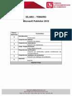 Sílabo - Temario Publisher