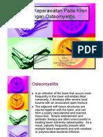 askep osteomielitis