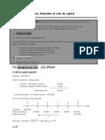 Chap07-Structure Financiere et Cout Du Capital