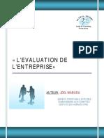 EVALUATION DE L'ENTREPRISE retraité _avec page de garde_