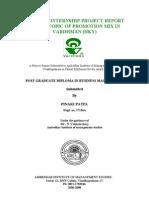 Ambedkar instt project report