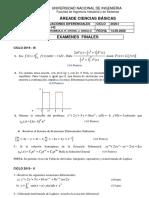 COMPENDIO EF 2020-I Ecuaciones Diferenciales