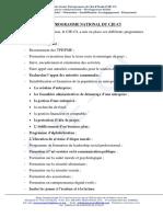 Programme CJE-CI