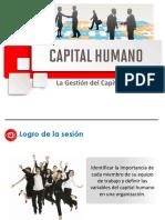 Sesión 1 La gestión del capital humano 2021-1