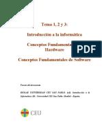 Resumen Temas 1-2-3 informatica