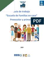 GUIA PARA PADRES ESCUELA DE FAMILIA EN CASA PRIMARIA Y SECUNDARIA