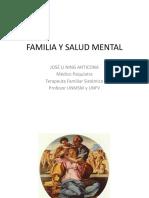 FAMILIA Y SALUD MENTAL