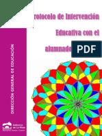 Protocolo de Intervención Educativa con el Alumnado con TDAH Dirección General de Educación La Rioja