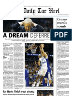 The Daily Tar Heel for March 28, 2011