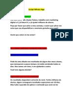 Script matador de Whatsapp - Afiliagram