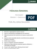 Osteo 1. Fisiologia Sensorial